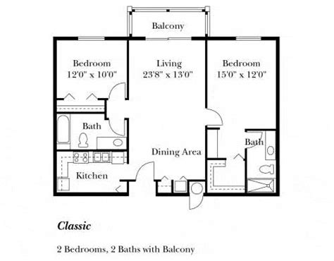 simple house floor plans with measurements 82 best images about 2 bedroom floorplan on pinterest