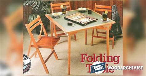 display table plans woodworking