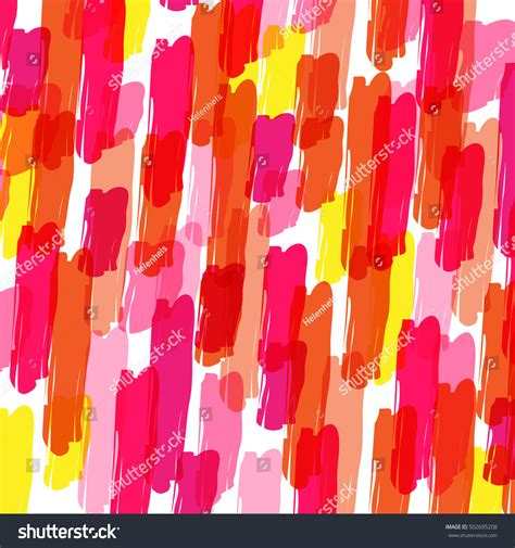 pattern brush color color pattern brush strokes stock vector 502695208