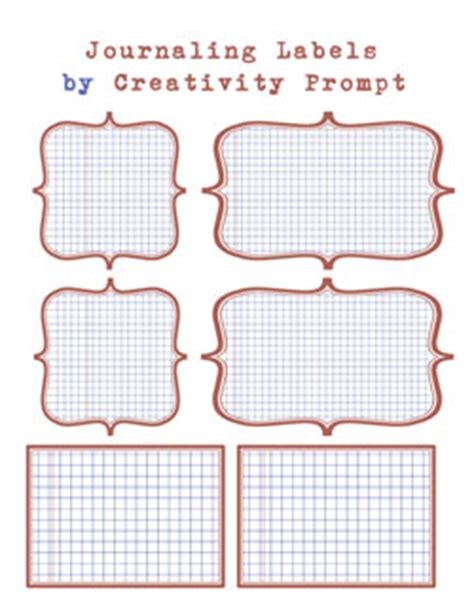 printable journaling tags fancy a freebie printable journaling labels creativity