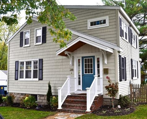 sopo cottage curb appeal before and after in the exterior color to