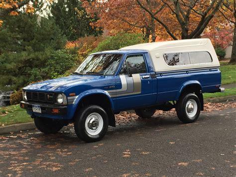 toyota pickup 4x4 1980 toyota pickup 4x4 sr5 standard cab pickup 2 dr 2 2l
