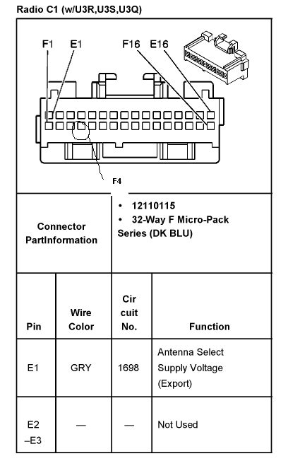 1998 oldsmobile intrigue radio wiring diagram 2004 ford f