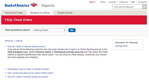 Bank Of America Background Check Process Www Bankofamerica Checks How To Order Or Reorder Checks