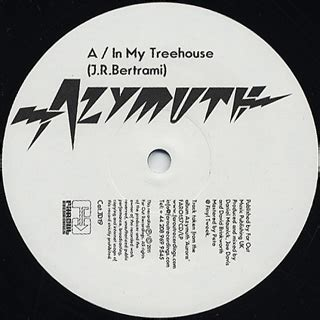 my tree house azymuth in my treehouse 12inch far out 中古レコード通販 大阪 root