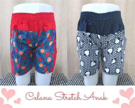 Celana Motif Katun Stretch celana stretch motif pusat obral grosir baju anak 5000