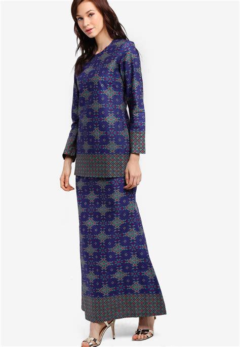 Baju Kebaya Songket Moden baju kurung moden songket printed shopperboard