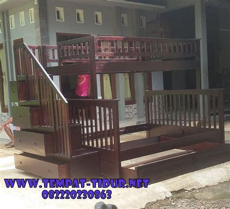 Ranjang Tingkat Kayu Murah Bandung tempat tidur tingkat jati jepara kode tt 310 ranjang