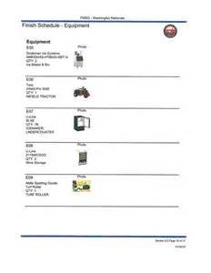 Furniture Inventory Template by Furniture Inventory Facility Management Services