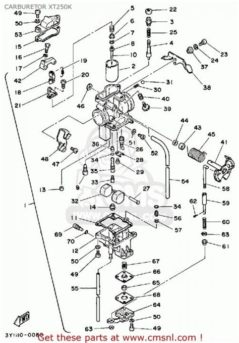 yamaha xt500 wiring diagram wiring and parts diagram