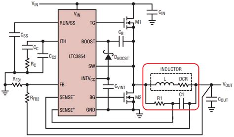 integrated zero inductor current detection circuit for step up dc dc converters inductor dcr sensing 28 images solutions 24vin to 1 2vout 15a using inductor dcr sensing to
