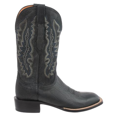cowboy boots for lucchese marsh goat leather cowboy boots for