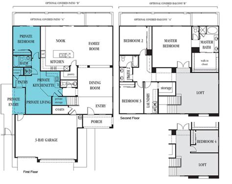 multi generational home floor plans armitage house on house plans craftsman and