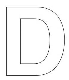 5 best images of letter d printable template free