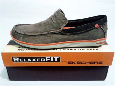 Sepatu Skechers Relaxed Fit sepatu skechers relaxed fit naven spencer cocoa gudang
