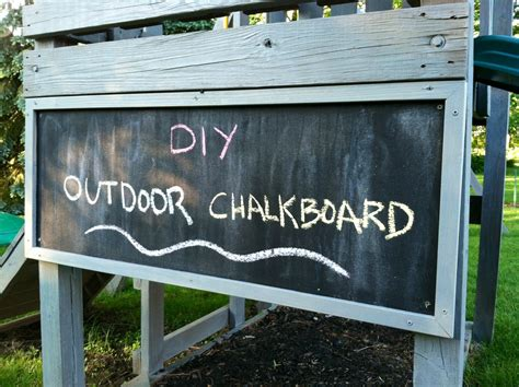 diy outdoor chalk paint eleanor olander this is me diy outdoor chalkboard