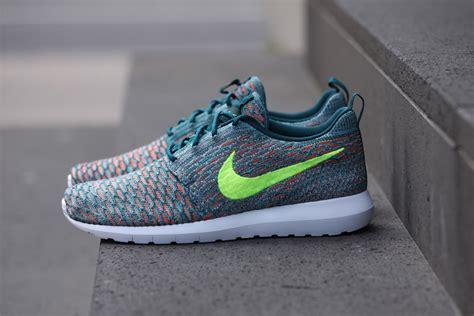Sepatu Nike Roshe Run Flayknit nike flyknit roshe run mineral teal hypebeast