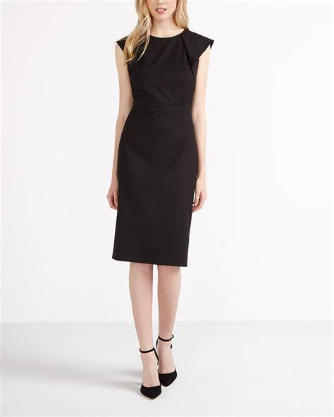 Cap Sleeve Sheath Dress willow thread cap sleeve sheath dress reitmans