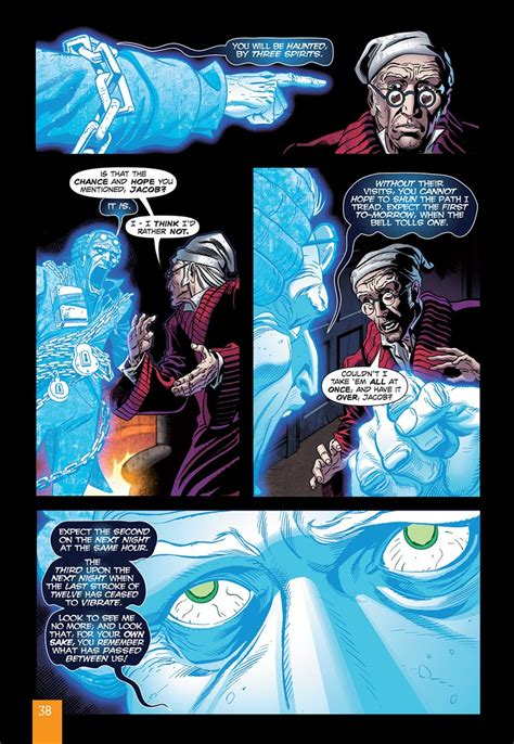 The Is In A Novel a carol original text graphic novel library