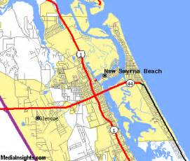 smyrna florida map new smyrna map