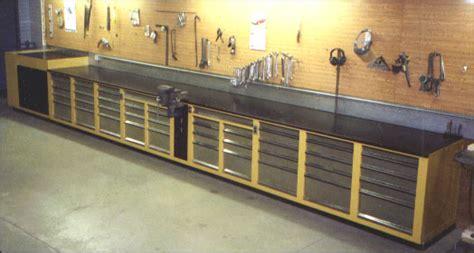 shop benches long built in workbench wood shop inspiration pinterest