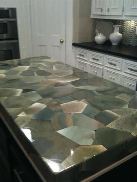 stone bar tops 40 great ideas for your modern kitchen countertop material