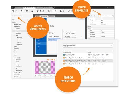theme editor devexpress winforms skin theme editor v2 coming soon in v17 1