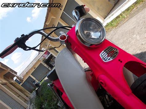 Tromol Depan Rx King Jupiter Asli Ygp modifikasi honda astrea ala streetcub custom by bmc