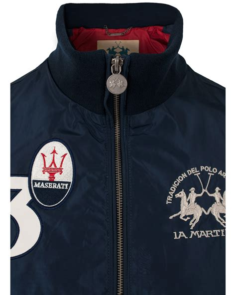 Maserati Jacket by La Martina Maserati Jacket Navy Hos Careofcarl