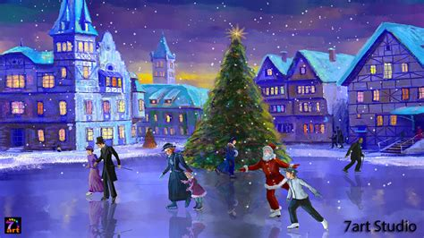 christmas live themes for windows 7 christmas wallpaper for windows 10 wallpapersafari