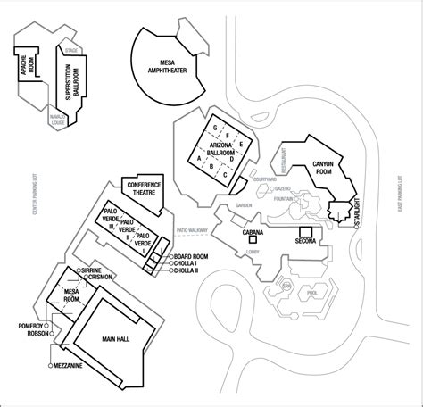 phoenix convention center floor plan phoenix marriott mesa hotel and convention center for