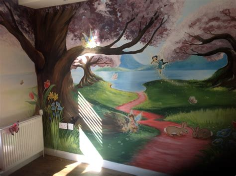 Childrens Wall Mural dreamworld creations wall murals edinburgh mural art
