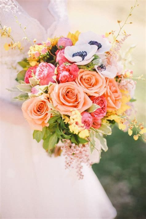 424 best Coral Wedding Bouquets images on Pinterest