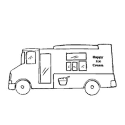 food truck coloring page ice cream 187 coloring pages 187 surfnetkids