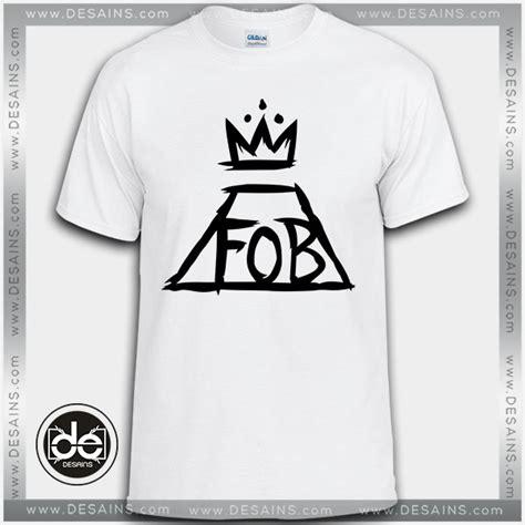 Tshirt Fall Out Boy Fob buy tshirt fall out boy fob logo tshirt womens tshirt mens
