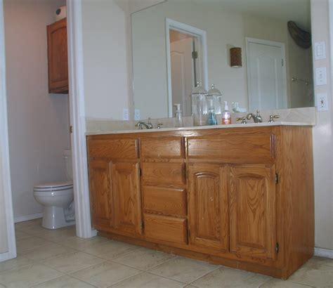 painting bathroom cabinets color ideas project transforming builder grade cabinets to old world