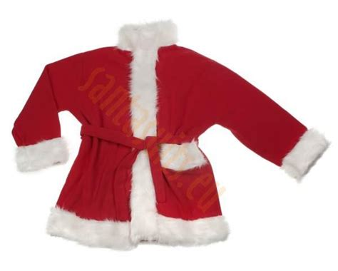 deluxe fleece santa suit set 3 parts santa suits