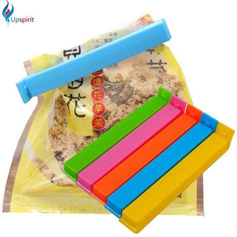 Clip Sealer Plastik Wrap 5pcs aliexpress buy 5pcs lot large colorful food snack bag storage sealing seal cl