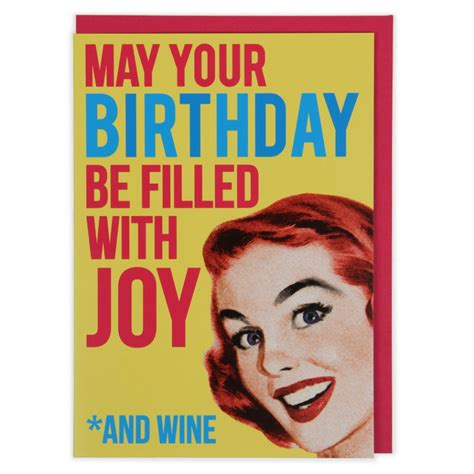 for your birthday wine birthday card paperchase