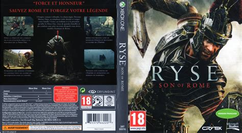 printable xbox one game covers ryse son of rome dvd cover 2013 xbox one france
