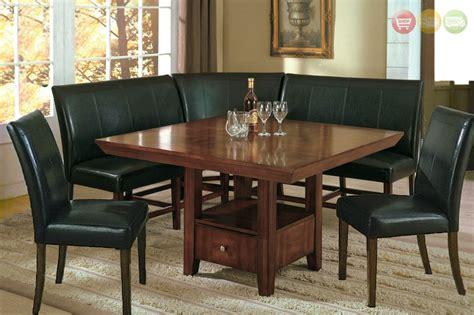 salem pc breakfast nook dining set table corner bench