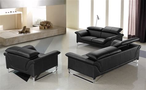 black sofa set designs elite modern black sofa set black design co