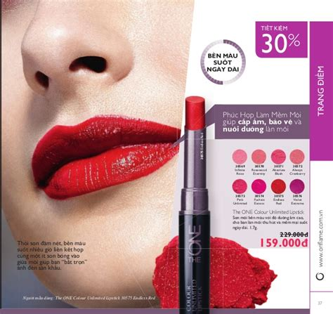 Oriflame The One Colour Unlimited Lip Gloss Evermore 30642 catalogue my pham oriflame 12 2016