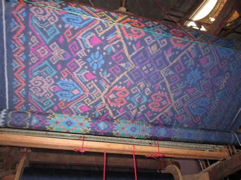 Kain Tenun Blanket 13 kain tenun ikat nusa dua bali biru tua cv tenun