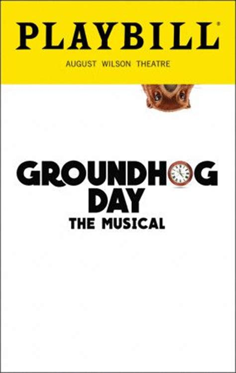 groundhog day sinopsis 1034 best playbills and new images on