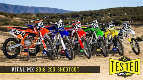 motocross 250f shootout 2018 vital mx 250 shootout motocross feature stories