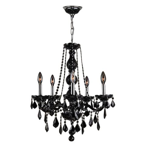 black light chandelier home decorators collection palermo grove collection 5