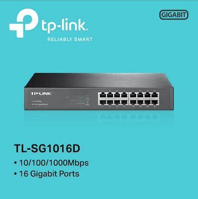 Tp Link Tl Sg1016d 16 Port Gigabit Switch Desktop Diskon qoo10 tp link tl sg1016d computer
