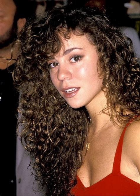 1991 hairstyles curly tbt mariah carey s natural curls 90 s classic