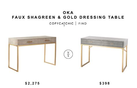 grey and gold desk office archives copy cat chic
